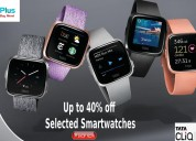 Up to 40% off selected smartwatches