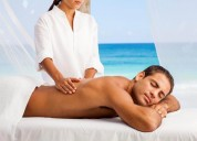 Cross body massage by female mansarovar 7568798332
