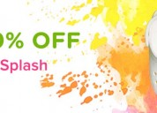 Crocs™ india holi offer, flat 40% off on all style