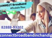 Connect broadband ftth fiber plans chandigarh moha
