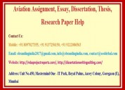 Aviation assignment, essay, dissertation, thesis,