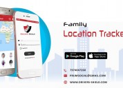 Family tracker app in indore: drivers shield