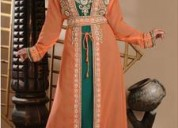 Checkout orange kaftan dresses with best designs