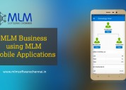 Mlm business using mlm mobile applications