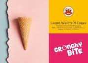 India's best ice cream cone manufacturers - laxmi
