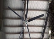 Big ceiling fan