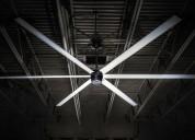 Heavy industrial ceiling fan