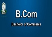 B.com degree fast track mode   b.com one year cour