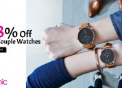 Up to 88% off couple watches