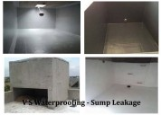 Sump tank waterproofing services