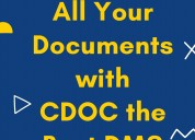 Manage documents with cdoc