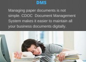 Manage documents with cdoc dms