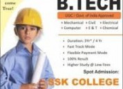 Technical courses in parttime or regular