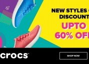 Crocs™ india upto 60% off, new styles on discount