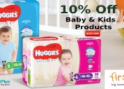 10% off baby & kids products