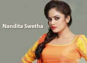 Actress nandita swetha contact details email addre