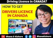 How to get driving licence in canada?