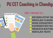 Best pu cet coaching in chandigarh