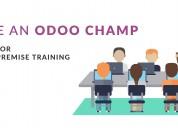 Odoo training,technical & functional training,get