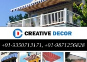 Awnings manufacturer in delhi india