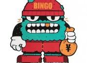 Bingo robot custom stickers