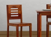 Explore the range of dining chairs online in india