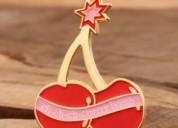 Cherry lapel pins no minimum