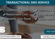 Best transactional sms service