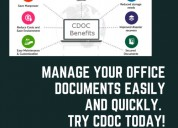 Manage your office documents with cdoc