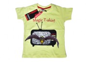 Digital magic t-shirt for kids