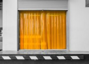 How pvc curtains keep your work environment clean?