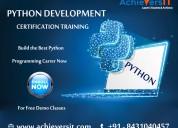 The best python development training institute