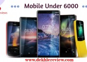 Mobiles under 6000