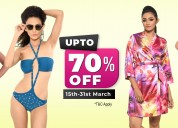 Attractive discounts on lingerie! hurry.