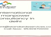 International manpower consultancy in delhi | stan
