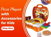 Pizza play set with brick oven | cleos