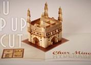 Custom pop up cards, pop up brochure designer/prin