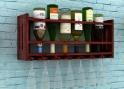 Avail amazing discount on wine rack online