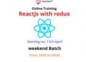 Online reactjs training with 50% discount