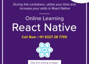 Best react native training  institute in ahmedabad