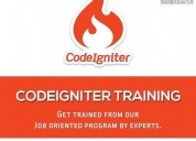 Best codeigniter training institute in ahmedabad