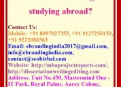What are the advantages of studying abroad?
