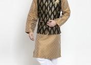 Dhrohar men's straight nehru jacket