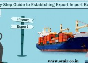 Export import data with importers name
