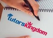 Home tutors in hyderabad - tutorskingdom.com