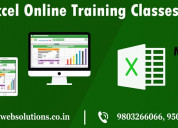 Excel online training classes in panchkula