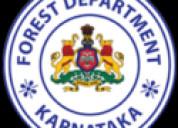 Karnataka forest department recruitment 2020