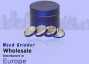 Moksha 50mm metal herb grinder/crusher with storag