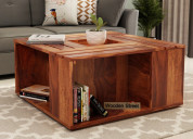 Select the descent square coffee table design - ws