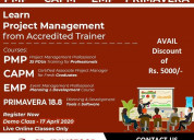 project management training from accredite trainer